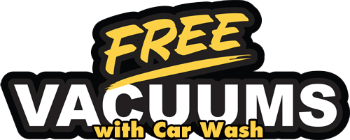 Free use of vacuums with every car wash!